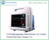 Échographie Doppler Foetal moniteur cardiaque foetal de l'hôpital moniteur enceintes de la machine