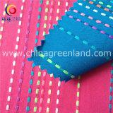 La fluorescéine textiles fils teints rayures jacquard Tissu de coton (GLLML147)