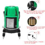 Nível laser verde 5 Piscina de Autonivelamento medida transversal de 360 graus