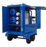 Huile de transformateur mobile déchets de matériel de filtration de l'huile usine de régénération