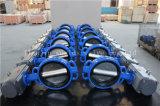 De pneumatische Aangedreven Vleugelklep van het Type van Wafeltje Met Goedgekeurd Ce ISO Wras