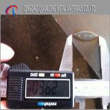 Placa Chequered laminada a alta temperatura de A36 Ss400 6mm densamente