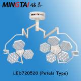 Het nieuwe Model LED720/720 van Shadowless van het Type Chirurgische Lichte Basis met Ce