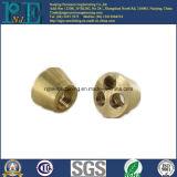 Het aangepaste Afgietsel van de Precisie en CNC die de Holle Bal van het Messing machinaal bewerken