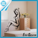 Reginetta su ordinazione di Waterproof Sexy nella camera da letto Wall Sticker di The Master