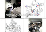 Fanucのコントローラが付いているBS203 CNCの旋盤機械傾斜のベッドフレーム