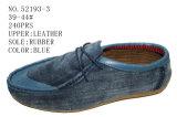 No 52193 ботинки вскользь ботинок людей кожаный Stock