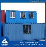 Kundenspezifisches Zwischenlage-Panel-modernes helles bewegliches vorfabriziertes Behälter-Stahlhaus