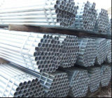 Tubo de acero de la INMERSIÓN caliente ERW/tubo redondos galvanizados en existencias