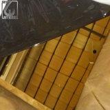 304 hojas del espejo del acero inoxidable del oro de Champán