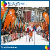 Drapeaux de vol à bas prix et de haute qualité, drapeau de plage pour les événements
