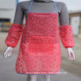 Design sexy Lace Waterproof Adult Women Long Apron per Kitchen Apron