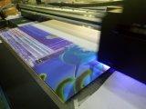Impresora ULTRAVIOLETA plana multicolora alfa del panel para la tela, paño
