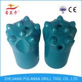 32mm34mm outil à pastilles conique par insertion de roche de 7 boutons