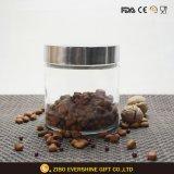 カスタムロゴの食糧貯蔵容器ガラスの瓶