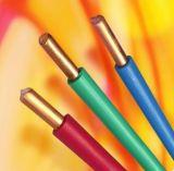 Fio isolado PVC de Andbuilding do fio elétrico a BS 6004