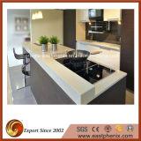 台所または浴室のための白い水晶表面のSoapstoneかFormicaのカウンタートップ