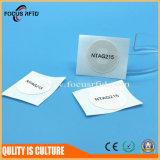 Protocolo18092 ISO Tag NFC para soluções de pagamento com verso adesivo