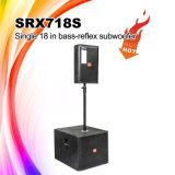 """Srx718s 18の""""サウンド・システムのネオジムのSubwooferのスピーカーのキャビネット"""