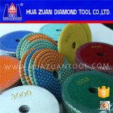 New Arrival 3 Color Diamond Polishing Pads Wet Dry