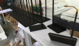 Hoher Grad-aufgetragene Stahlbeutel-Zahnstange Shelfs