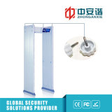 Detetor de metais impermeável ao ar livre do alarme sadio de 100 níveis de segurança para a exposição