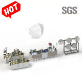 Hot Sale ingebouwde Nose Bridge Bar Type KN95 Semi-automatisch masker Productielijn