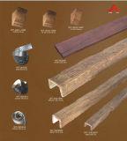De nouveaux produits Les matériaux de construction imitation bois Décoration en bois de faisceau