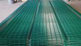 358 de la sécurité sur le fil galvanisé recouvert de PVC de clôture à mailles de 5 mm sur le fil