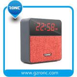 A música presente de promoção Relógio de Alarme Wireless Bluetooth Estéreo Mini Alto-falante com a FM