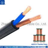H05VV-F 2X2.5MM2 Câble souple électrique avec ce certificat RoHS