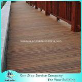 Quarto de bambu pesado tecido 48 da casa de campo do revestimento do Decking costa ao ar livre de bambu