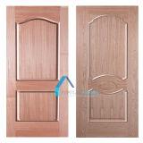 赤いクルミラテンアメリカのためのベニヤによって形成されるHDFのドアの皮