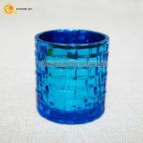 Supporto di candela di vetro di struttura