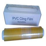 Простирание PE резца /Plastic слайдера BPA свободно льнет пленка для обруча еды