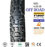 Bicicleta da sujeira do pneu do pneumático da motocicleta fora do teste padrão 4.10-18 da estrada