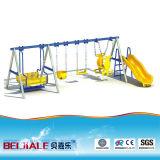 Los niños de oscilación de plástico y las diapositivas SW010