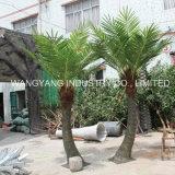 Пальма кокоса домашнего украшения сада пластичная напольная искусственная