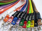さまざまなカラーの4GB締縄USBのフラッシュ駆動機構