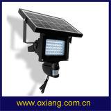 Moniteur solaire de caméra de sécurité d'éclairage LED de HD1080 PIR