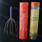 Il nuovo sforzo capo dell'attrezzo di massaggio del Massager del cuoio capelluto del collo del tubo di carta si distende