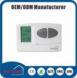 Regulador de temperatura sin hilos programable del termóstato del surtidor de China del Ce y del estándar ISO9001