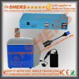 Портативный миниый свет O.S. молотка СИД светлый S. безопасности выхода DC 12/16/19 v выхода USB батареи лития стартера 16800mAh скачки