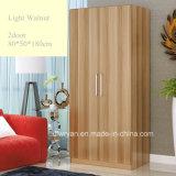 Fester Spanplatten-verwendeter Panel-Garderoben-Wandschrank
