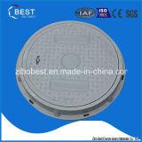 500mm 합성물 맨홀 뚜껑의 둘레에 C250 중국제