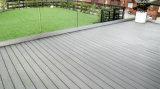 Beau Grain du bois WPC Flooring tablier composite avec la CE, FSC, ISO