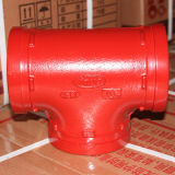 China Professional Manufacturer von Ductile Cast Iron Grooved Reducing Cross