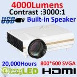 Bester HDMI Projektor der hohen Helligkeits-LED