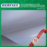 Backlit лоснистое знамя гибкого трубопровода рекламируя материала