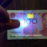 Wasserdichte UV365nm Goldfarbe der Taschenlampen-3W LED